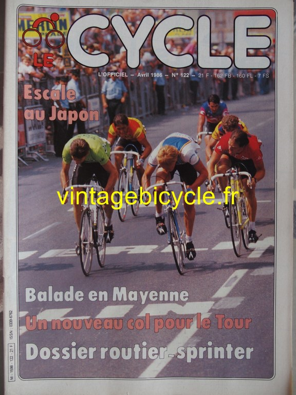 Vintage bicycle fr l officiel du cycle 52 copier