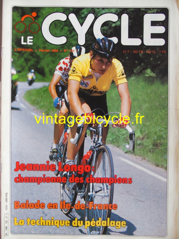 Vintage bicycle fr l officiel du cycle 53 copier