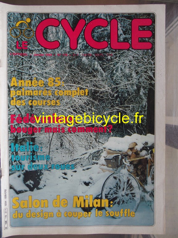 Vintage bicycle fr l officiel du cycle 54 copier