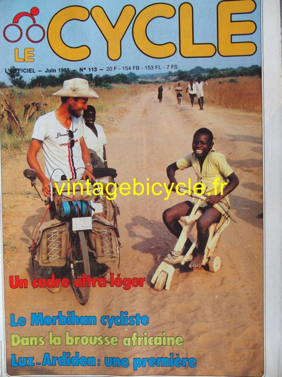 Vintage bicycle fr l officiel du cycle 59 copier