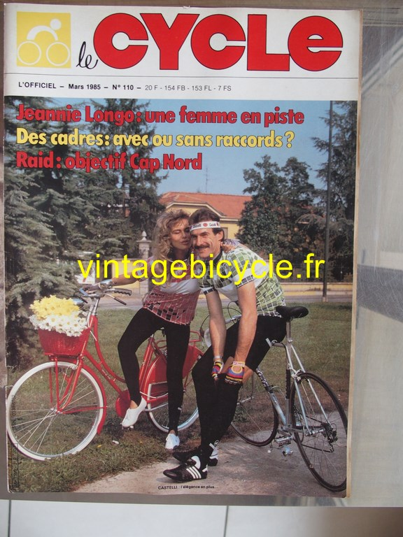 Vintage bicycle fr l officiel du cycle 62 copier
