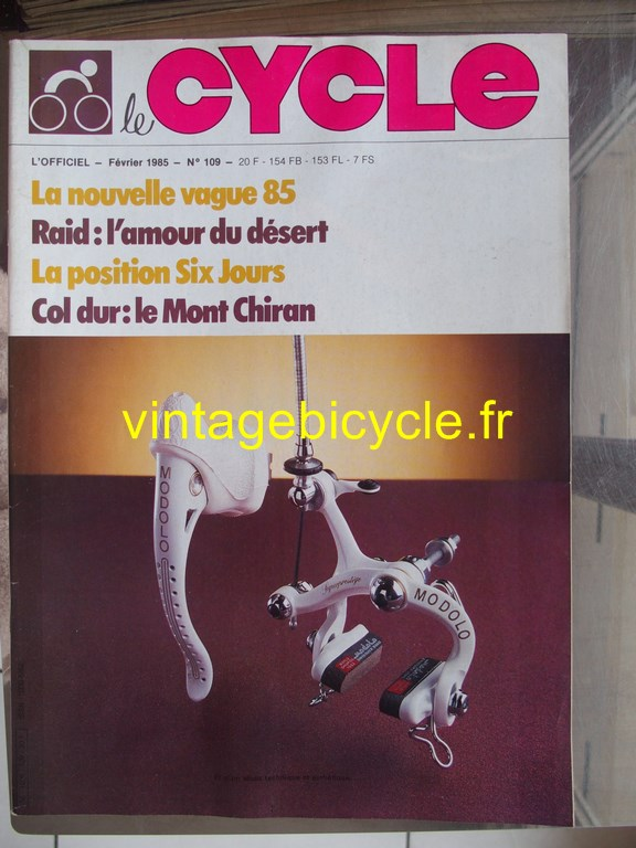 Vintage bicycle fr l officiel du cycle 63 copier