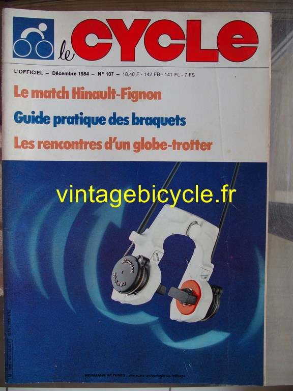 Vintage bicycle fr l officiel du cycle 64 copier