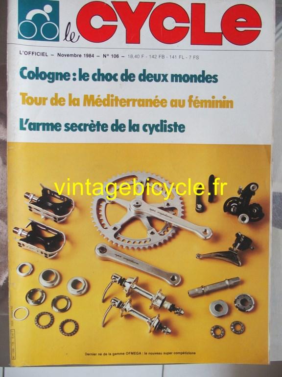 Vintage bicycle fr l officiel du cycle 65 copier