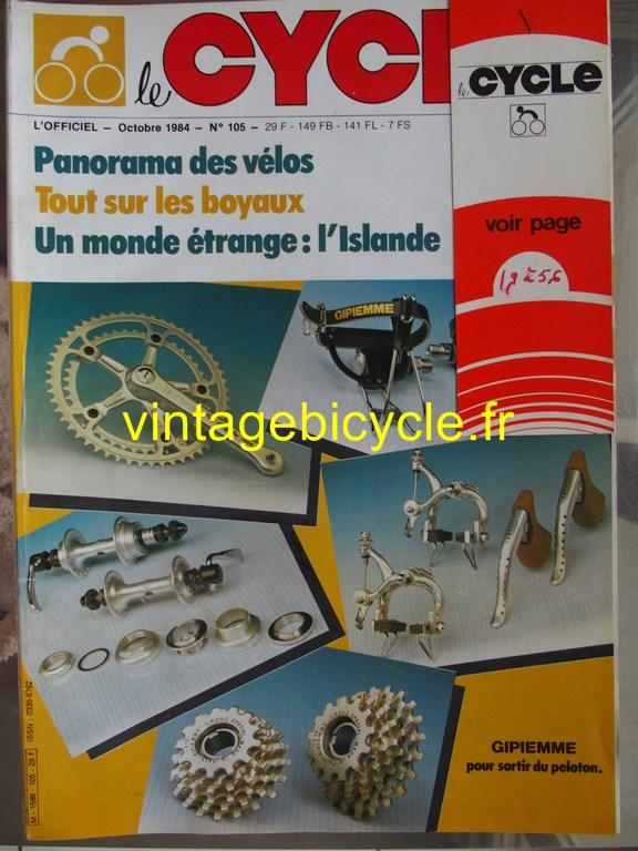 Vintage bicycle fr l officiel du cycle 66 copier