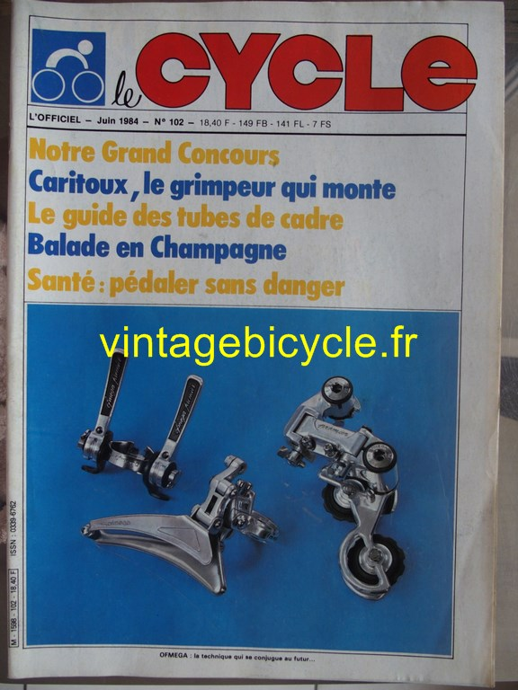 Vintage bicycle fr l officiel du cycle 68 copier