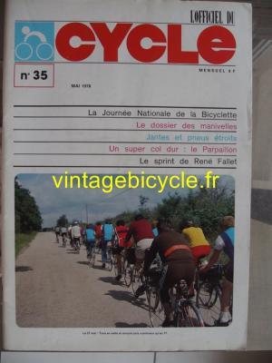 LE CYCLE l'officiel 1978 - 05 - N°35 mai 1978