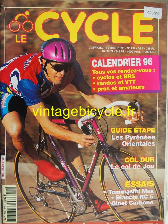 Vintage bicycle fr l officiel du cycle 78 copier
