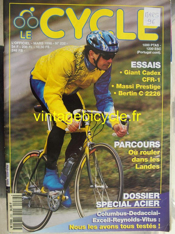 Vintage bicycle fr l officiel du cycle 79 copier