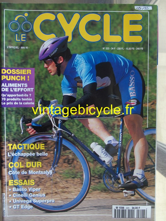 Vintage bicycle fr l officiel du cycle 8 copier