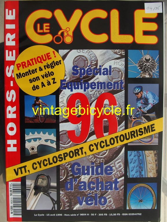Vintage bicycle fr l officiel du cycle 80 copier