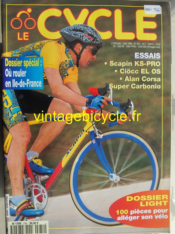 Vintage bicycle fr l officiel du cycle 81 copier