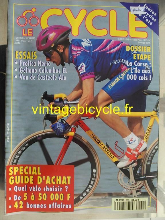 Vintage bicycle fr l officiel du cycle 84 copier