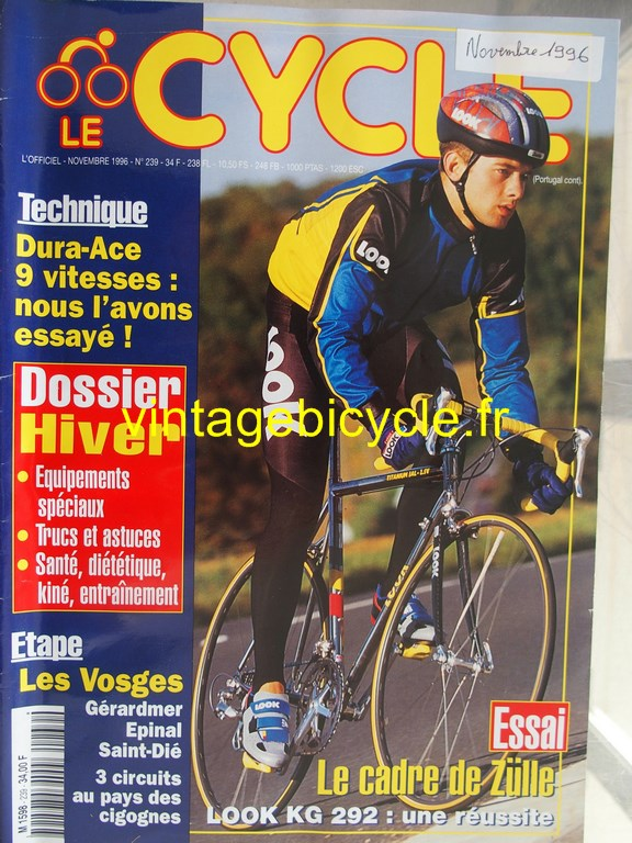 Vintage bicycle fr l officiel du cycle 85 copier