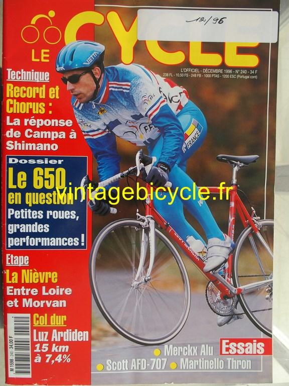 Vintage bicycle fr l officiel du cycle 86 copier