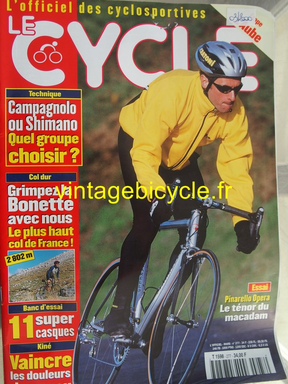 Vintage bicycle fr l officiel du cycle 89 copier