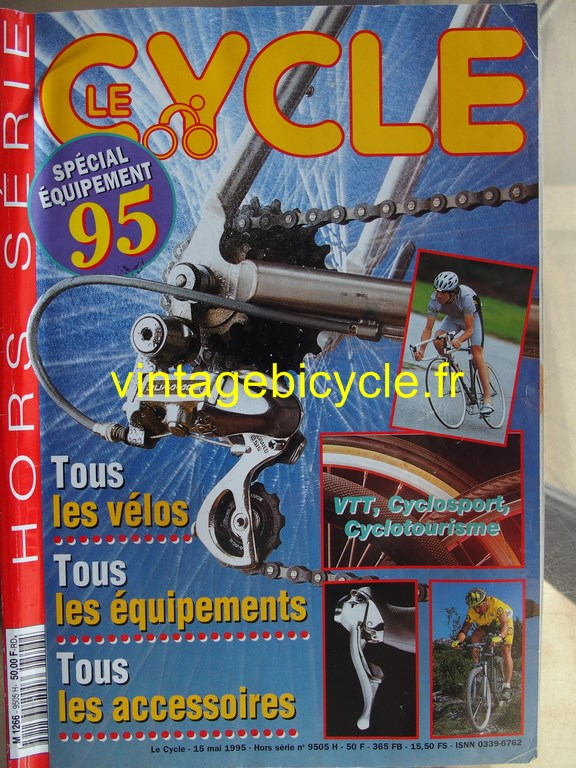 Vintage bicycle fr l officiel du cycle 9 copier
