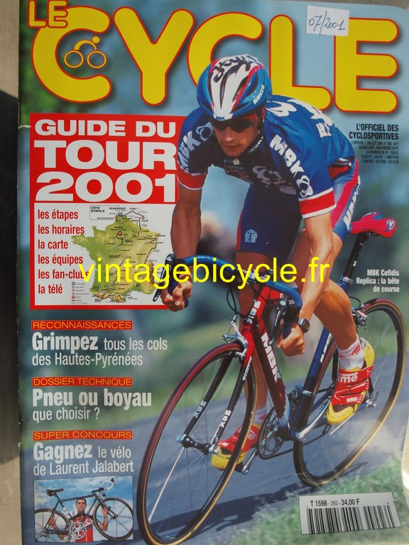 Vintage bicycle fr l officiel du cycle 91 copier
