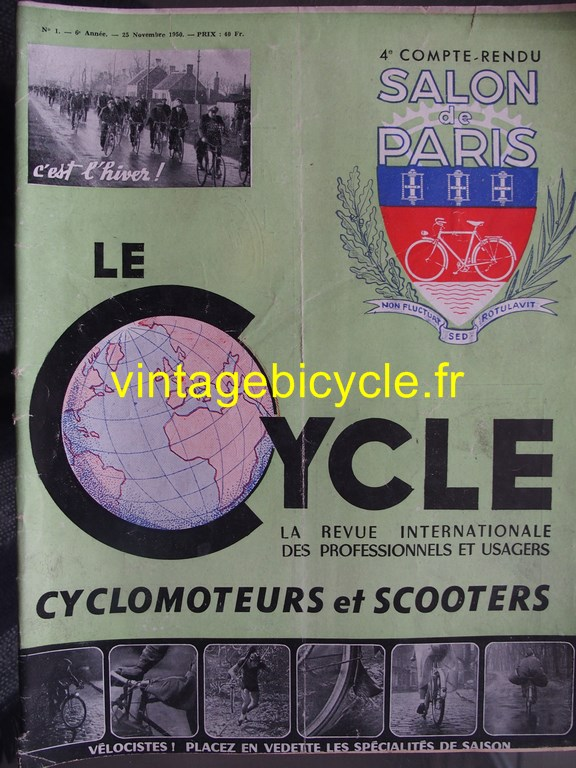Vintage bicycle fr le cycle 10 copier