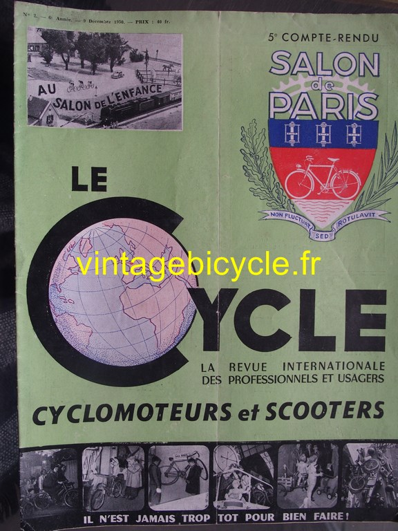 Vintage bicycle fr le cycle 11 copier