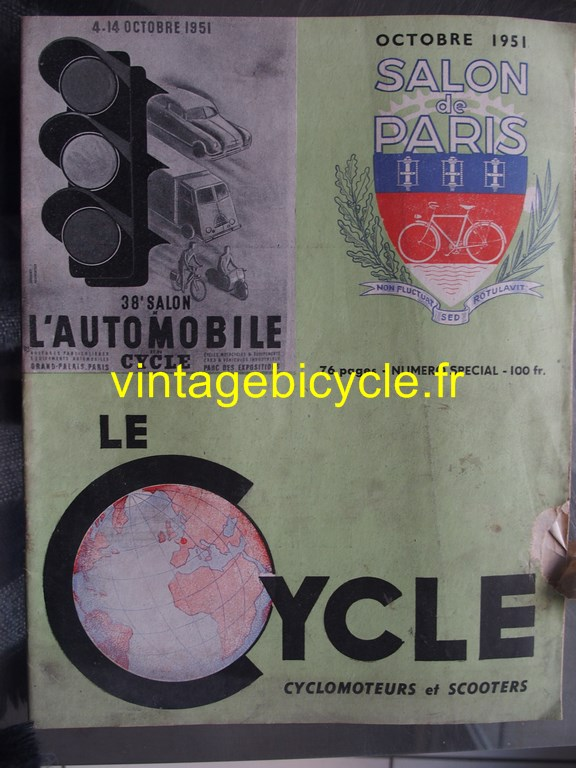 Vintage bicycle fr le cycle 13 copier