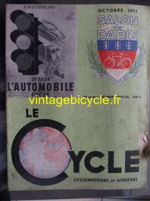 LE CYCLE 1951 - 10 - N° Special octobre 1951
