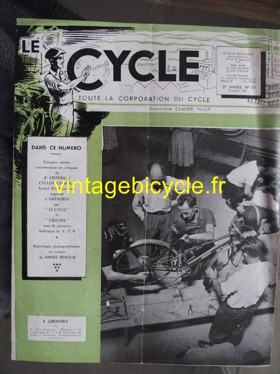 Vintage bicycle fr le cycle 2 copier