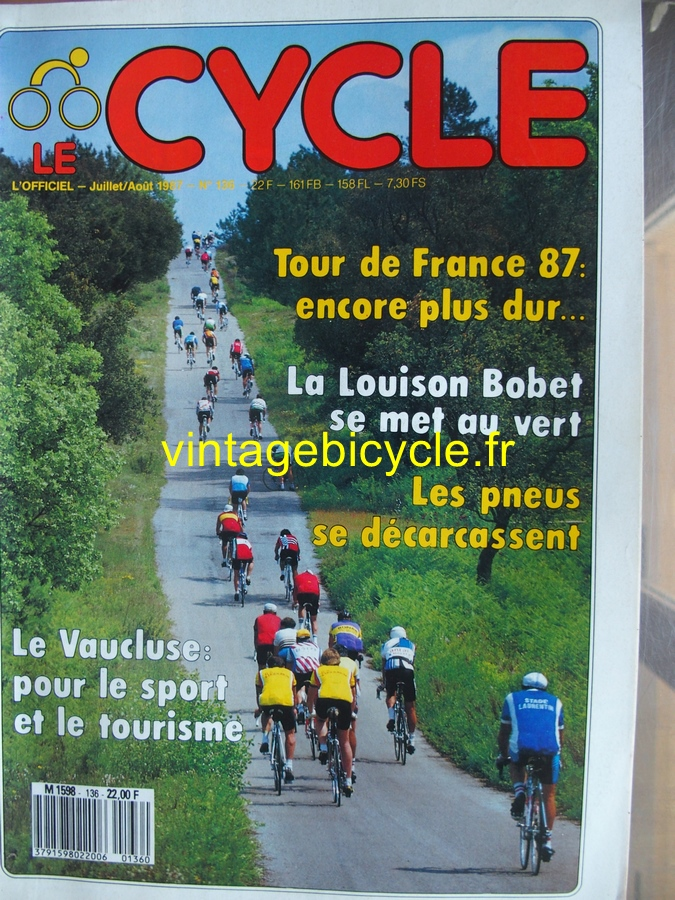 Vintage bicycle fr le cycle 20170222 8 copier