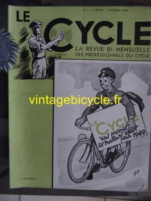 LE CYCLE 1949 - 01 - N°4 janvier 1949