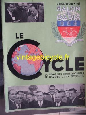 LE CYCLE 1949 - 11 - N°25 novembre 1949