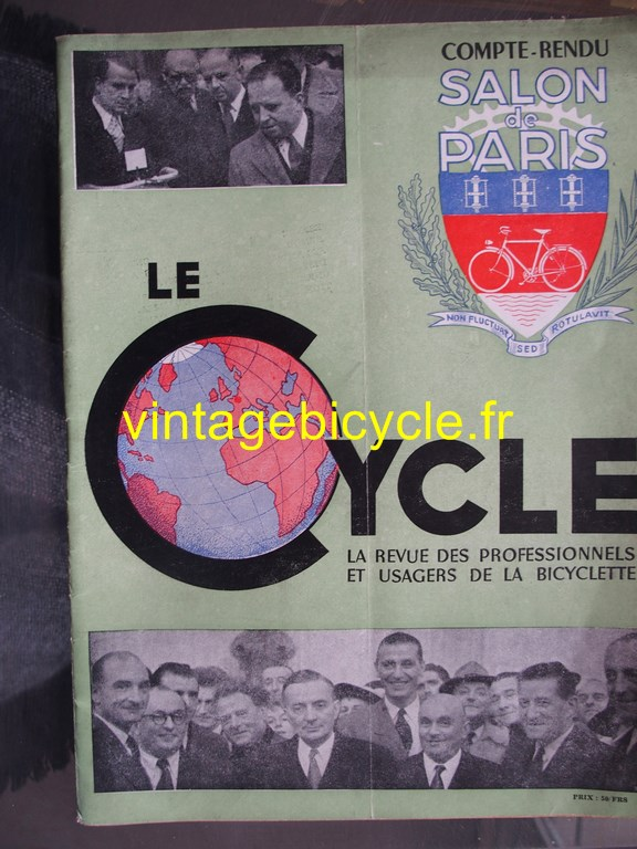 Vintage bicycle fr le cycle 6 copier