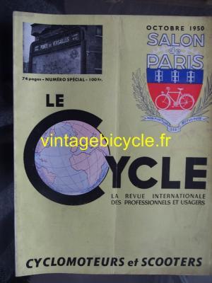 LE CYCLE 1950 - 10 - N°22 octobre 1950