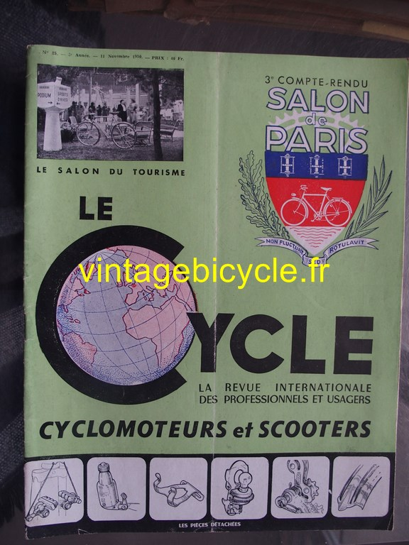 Vintage bicycle fr le cycle 9 copier