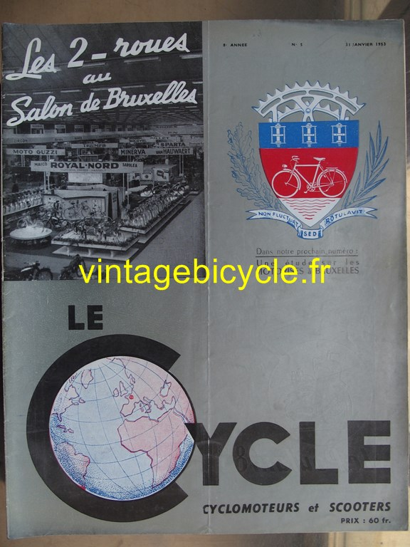 Vintage bicycle fr lecycle 101 copier