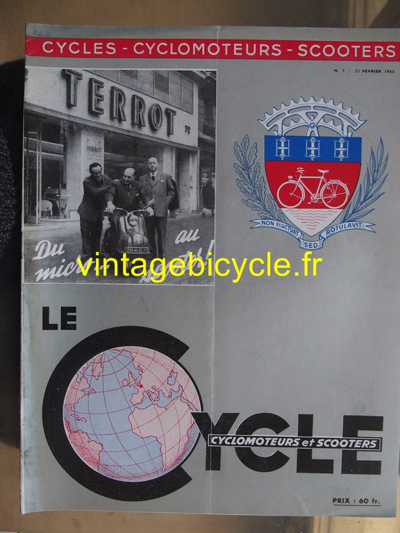 Vintage bicycle fr lecycle 102 copier