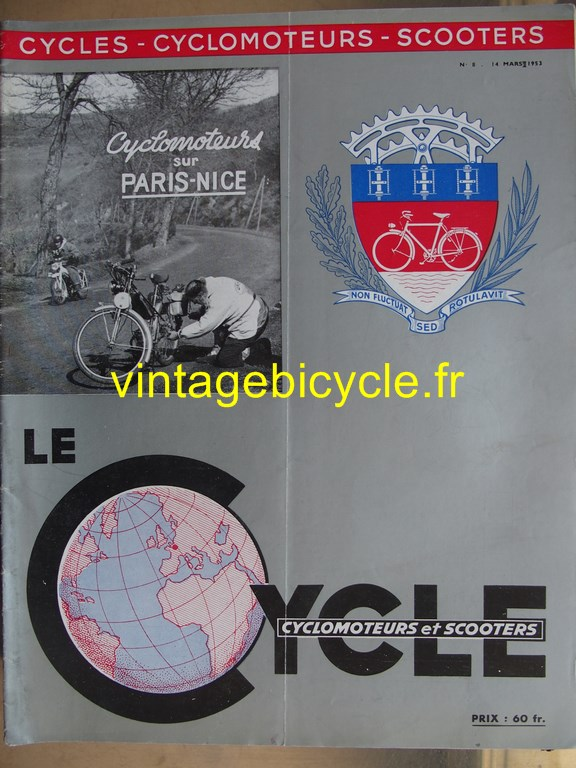 Vintage bicycle fr lecycle 103 copier