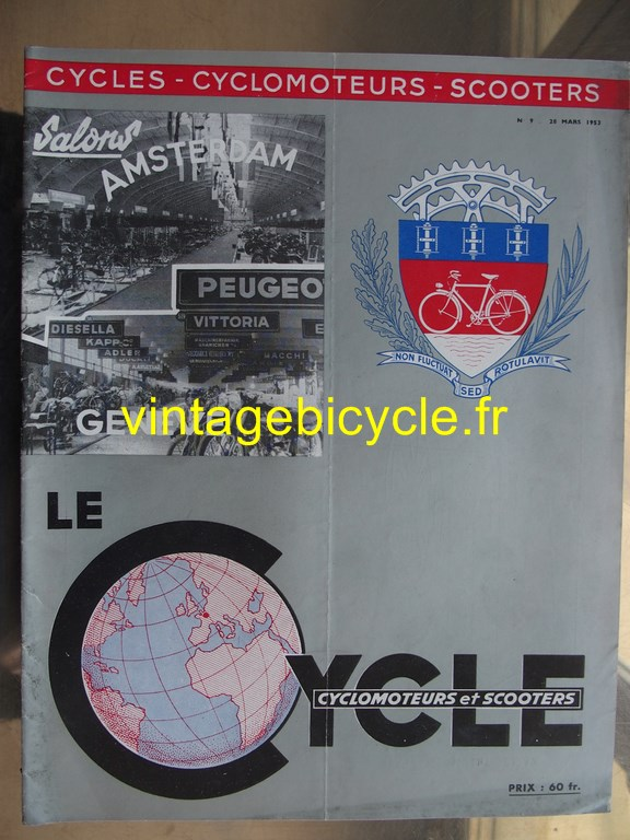 Vintage bicycle fr lecycle 104 copier