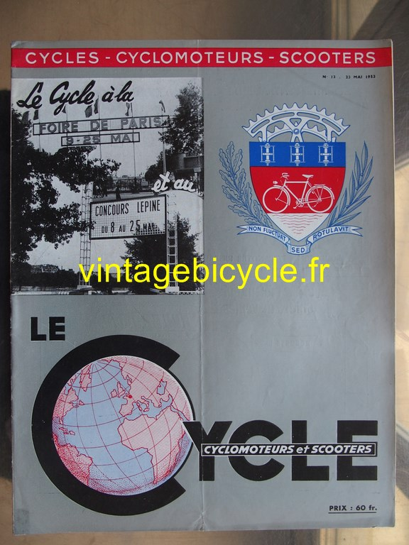 Vintage bicycle fr lecycle 108 copier