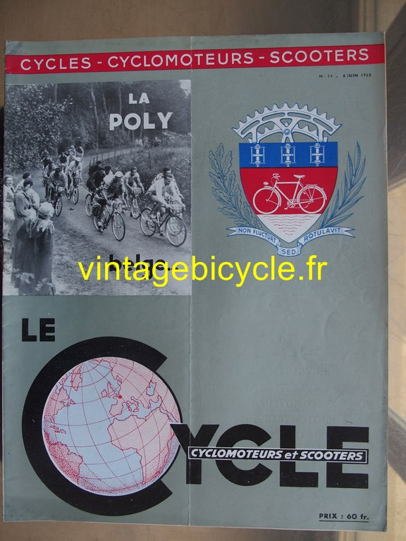 Vintage bicycle fr lecycle 109 copier