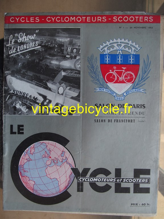 Vintage bicycle fr lecycle 122 copier