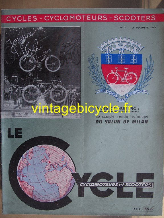 Vintage bicycle fr lecycle 124 copier