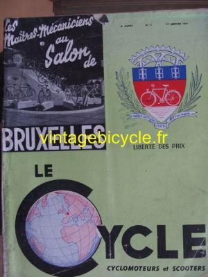 LE CYCLE 1951 - 01 - N°5 janvier 1951