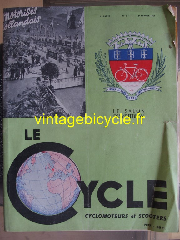 Vintage bicycle fr lecycle 61 copier