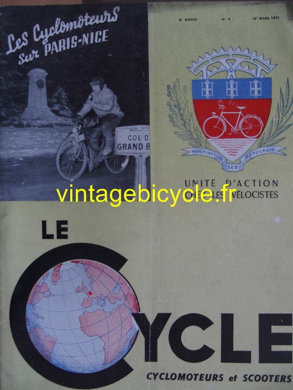 Vintage bicycle fr lecycle 63 copier
