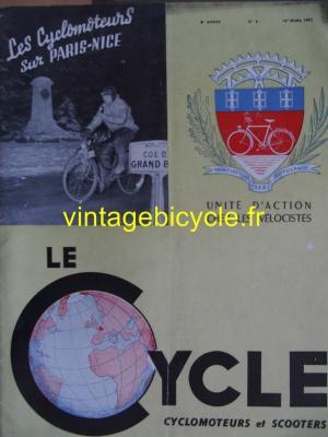 LE CYCLE 1951 - 03 - N°8 mars 1951
