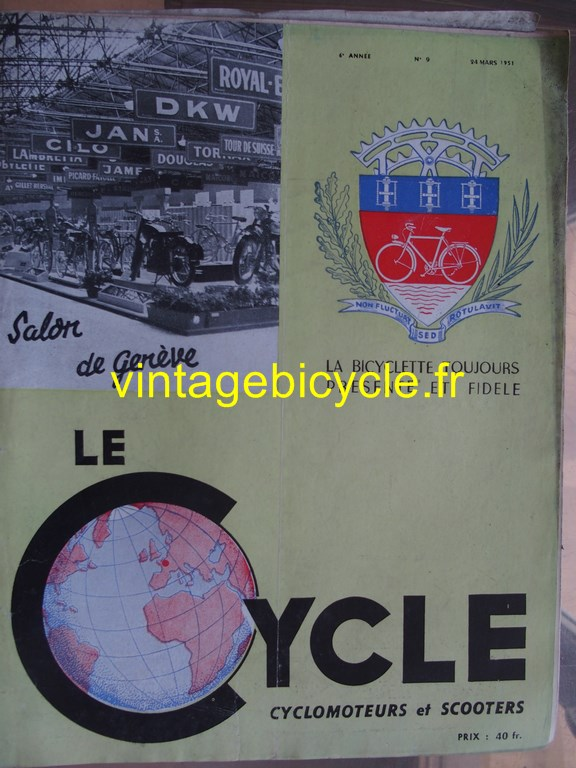 Vintage bicycle fr lecycle 64 copier