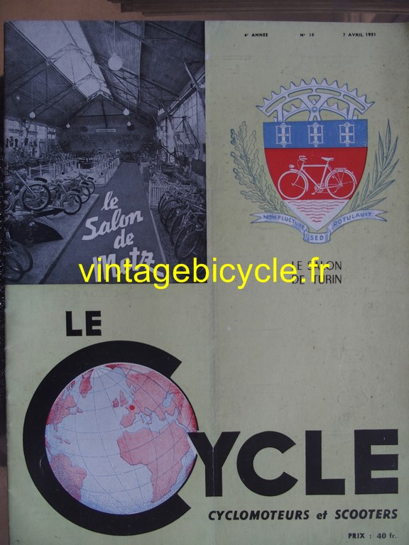 Vintage bicycle fr lecycle 65 copier