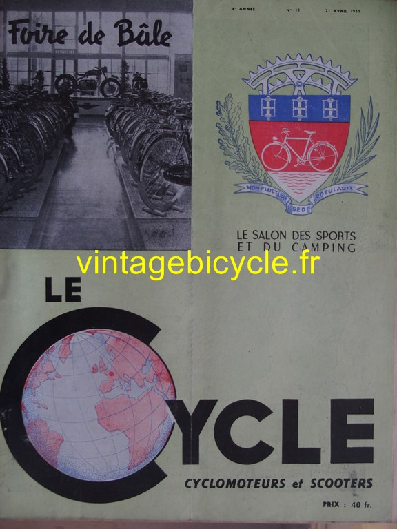 Vintage bicycle fr lecycle 66 copier