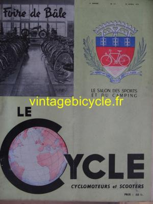 LE CYCLE 1951 - 04 - N°11 avril 1951