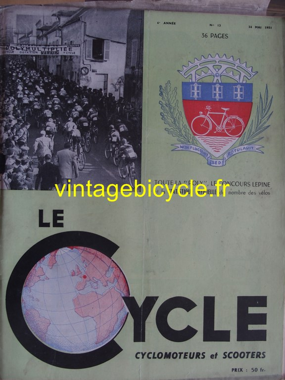 Vintage bicycle fr lecycle 68 copier